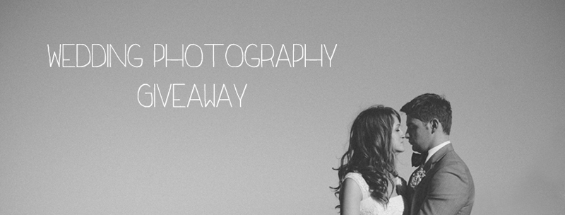wedding photography giveaway -  iDropPhoto