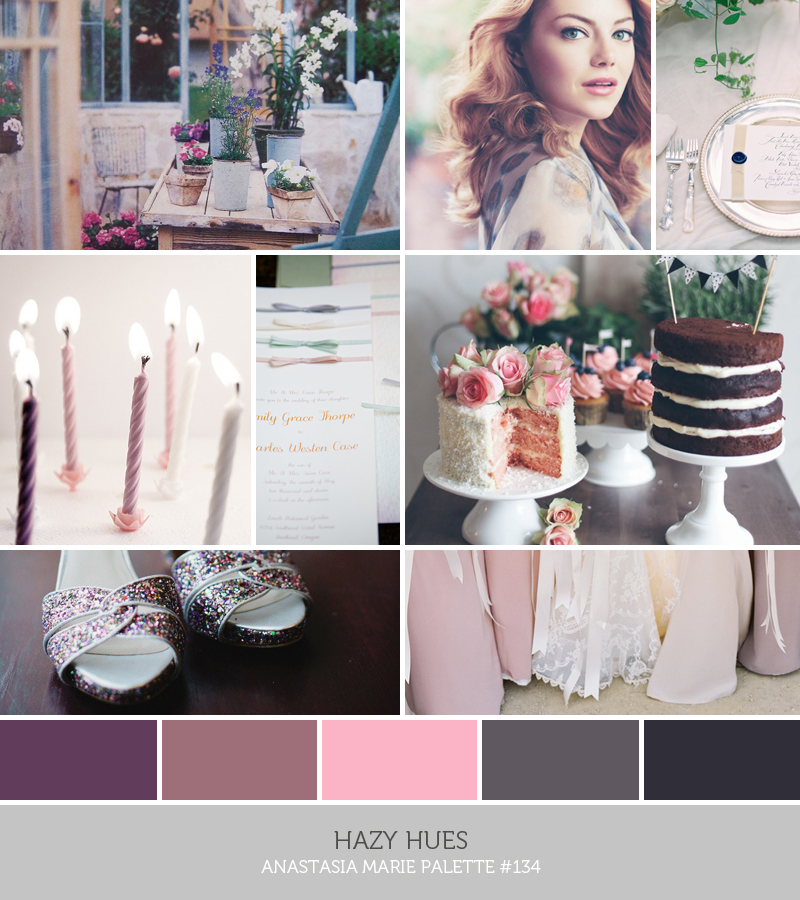 hazy hues - anastasia marie palette