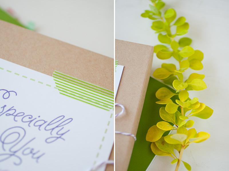 gift wrap - especially for you // #anastasiamariecards