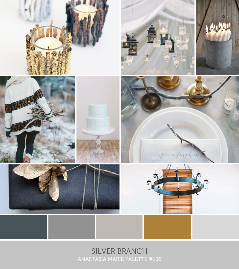 silver branch // anastasia marie palette