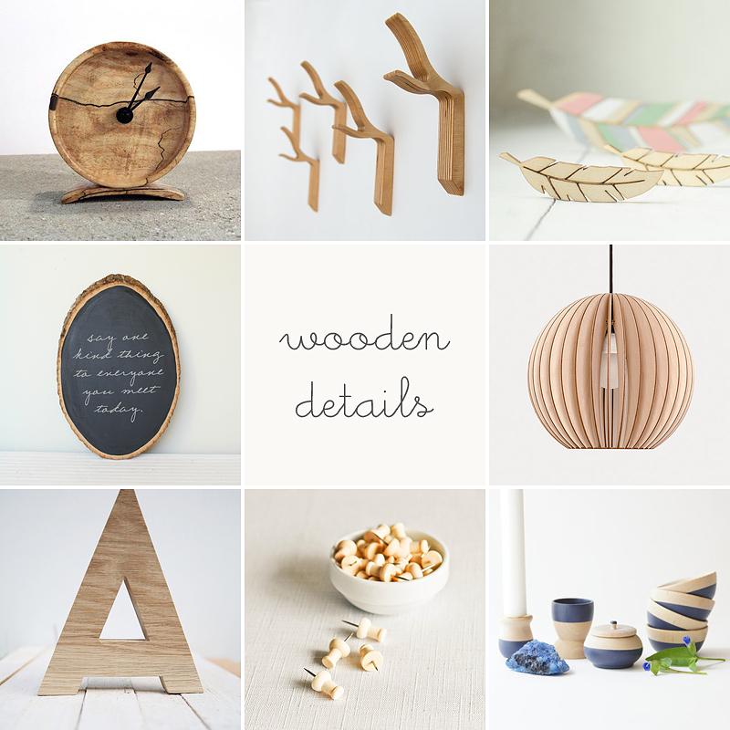 wooden details via anastasia marie