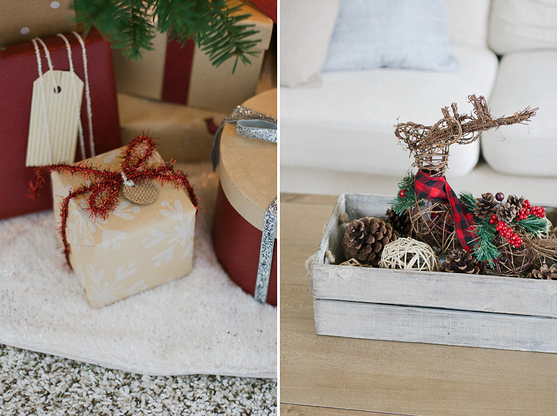 christmas home decor via Anastasia Marie