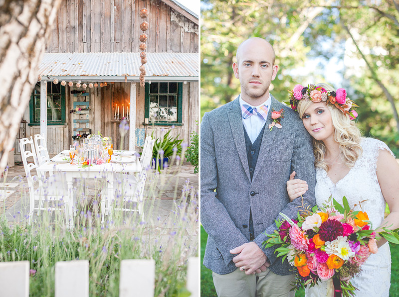 spring florals styled shoot