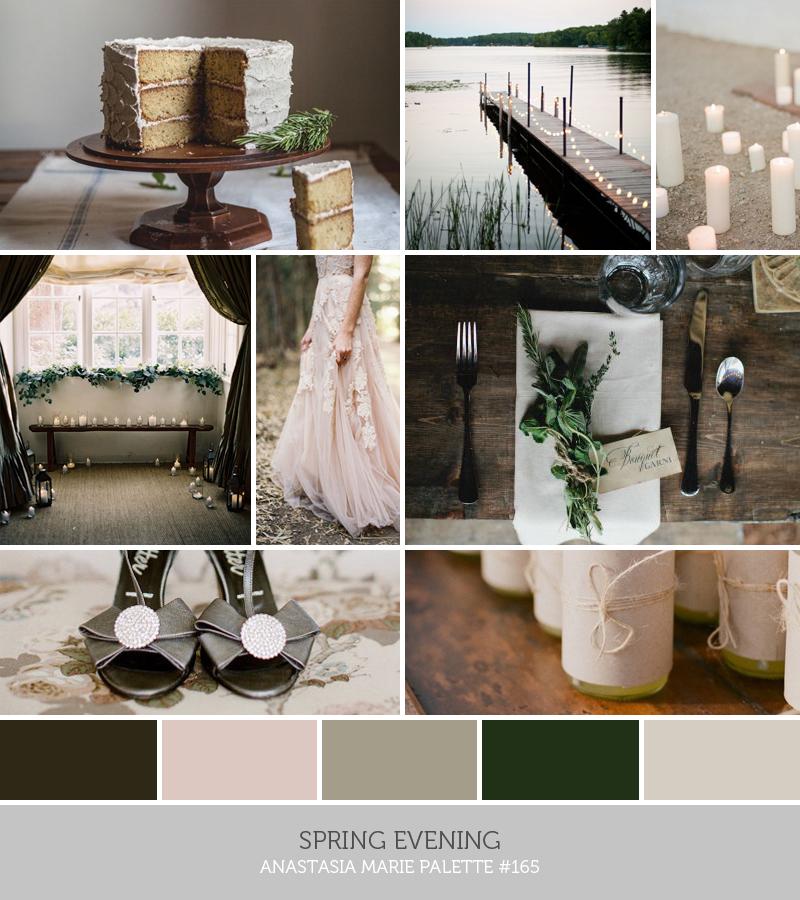 spring evening // anastasia marie palette