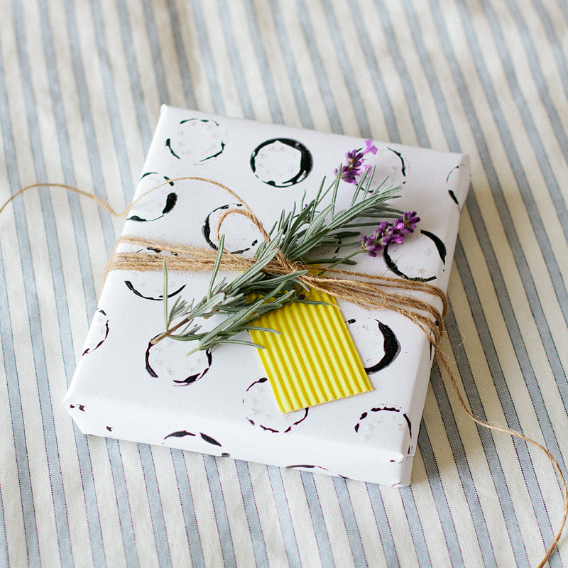 touch of rosemary gift wrap // anastasia marie
