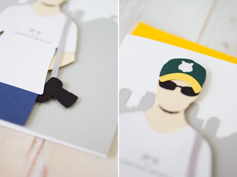 sean flanigan // custom card by anastasia marie