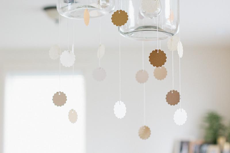 diy scallop garland via Anastasia Marie