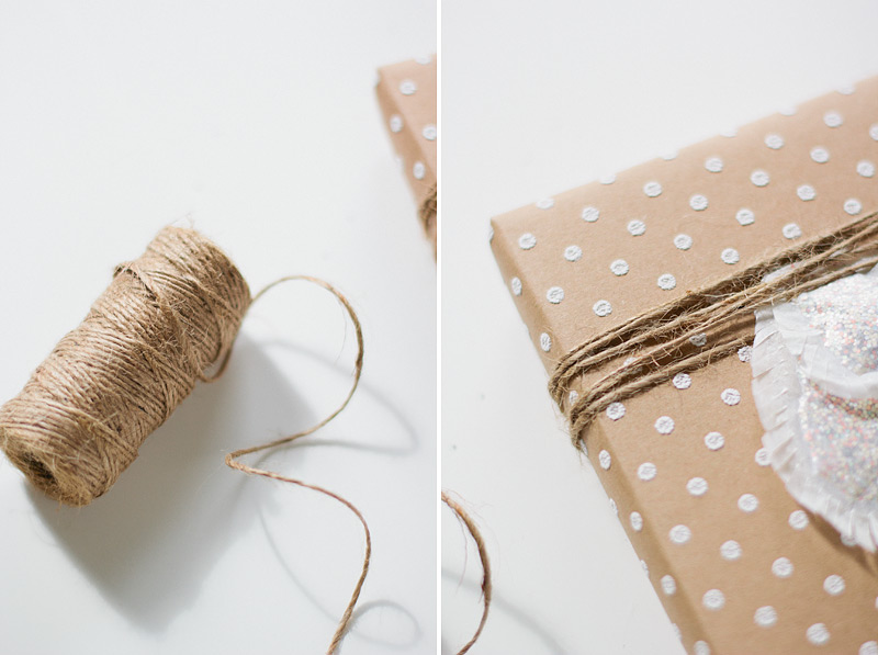 gift wrap // glassine leaves // ANASTASIA MARIE