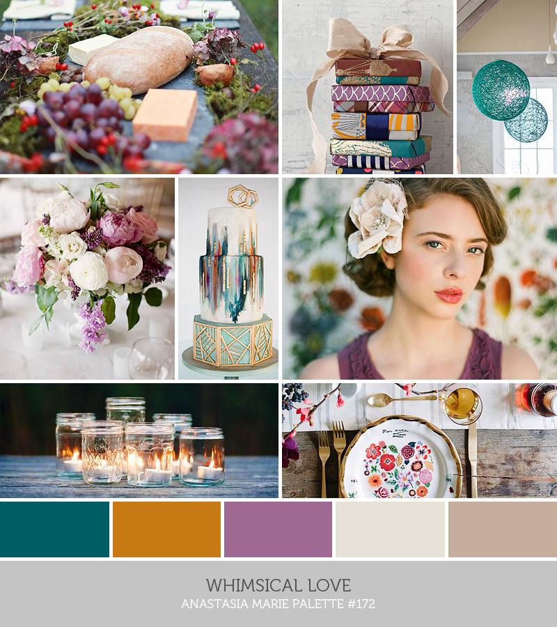 whimsical love // inspiration palette // anastasia marie