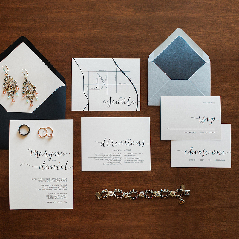 simply type wedding stationery template // anastasia marie shop