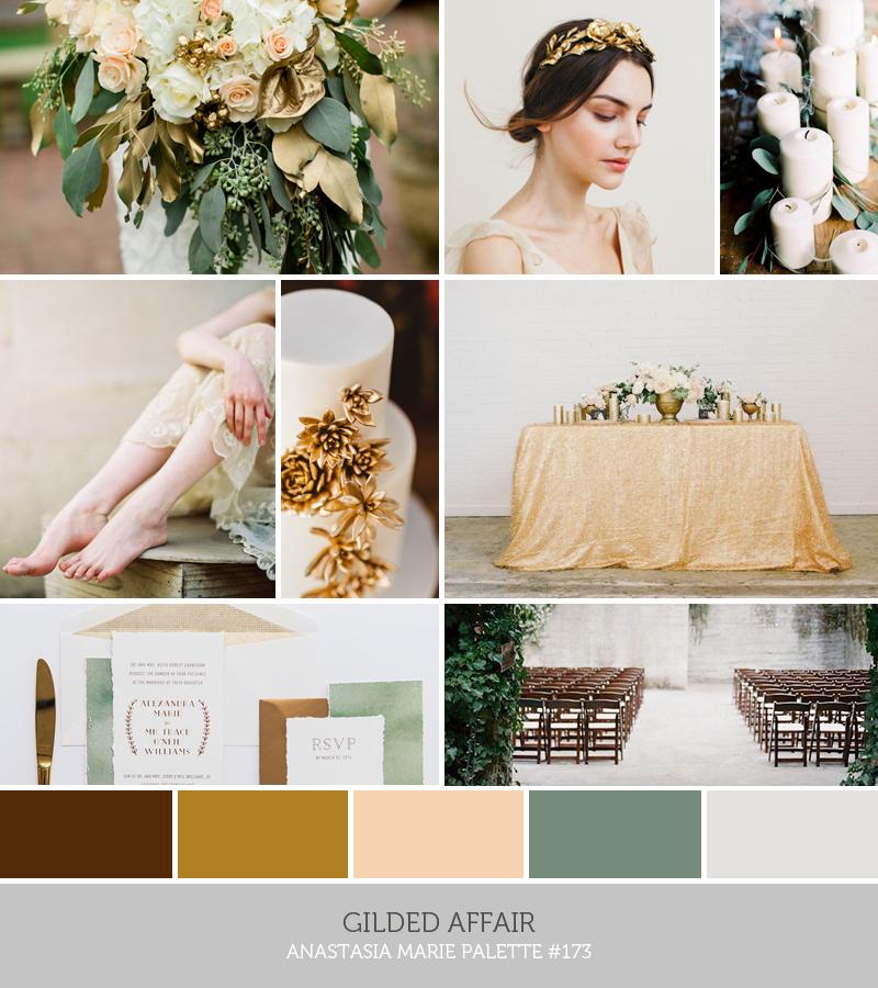 gilded affair // an anastasia marie palette