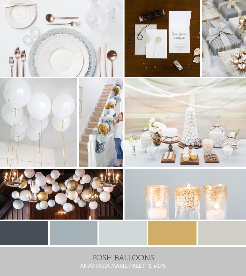 posh balloons // an Anastasia Marie palette