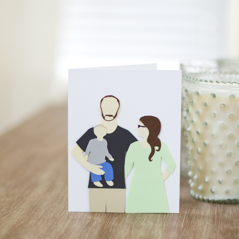 hey dad // custom card by Anastasia Marie