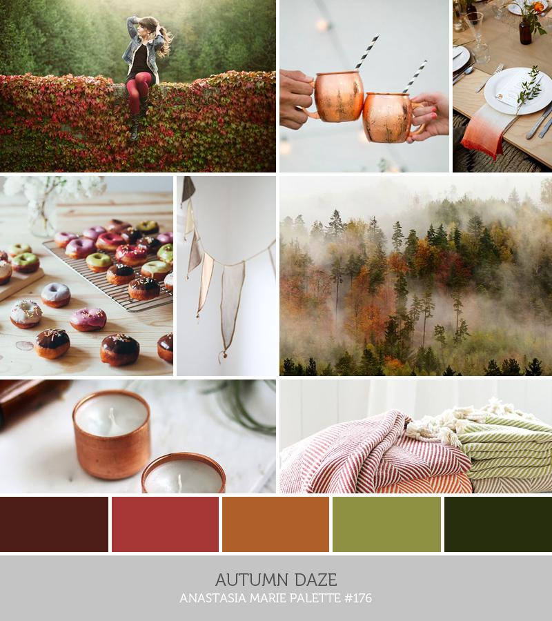 autumn daze // an anastasia marie palette