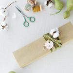 Gift Wrap: Cotton + Leather